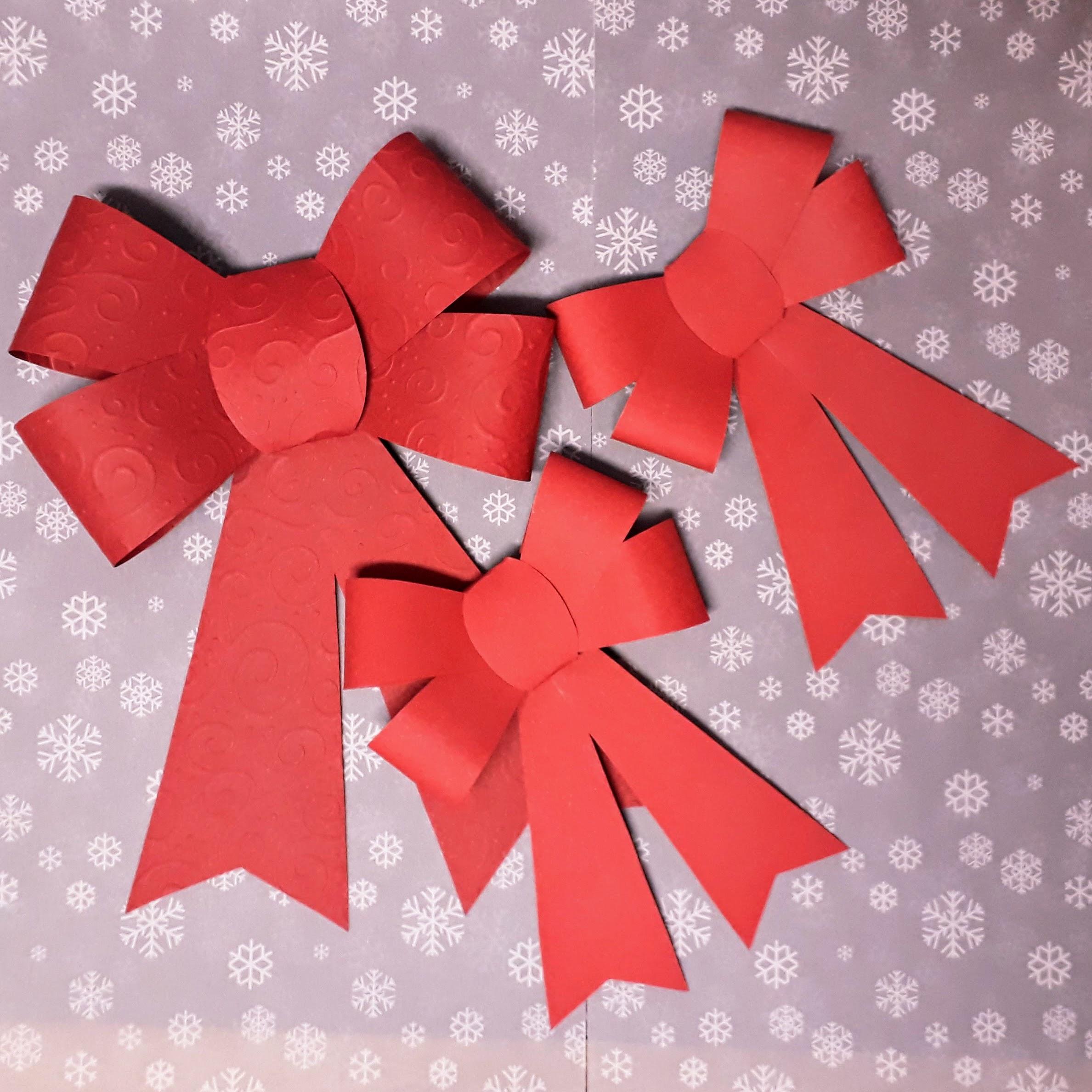 Papírová mašle - Vyrobte si sami