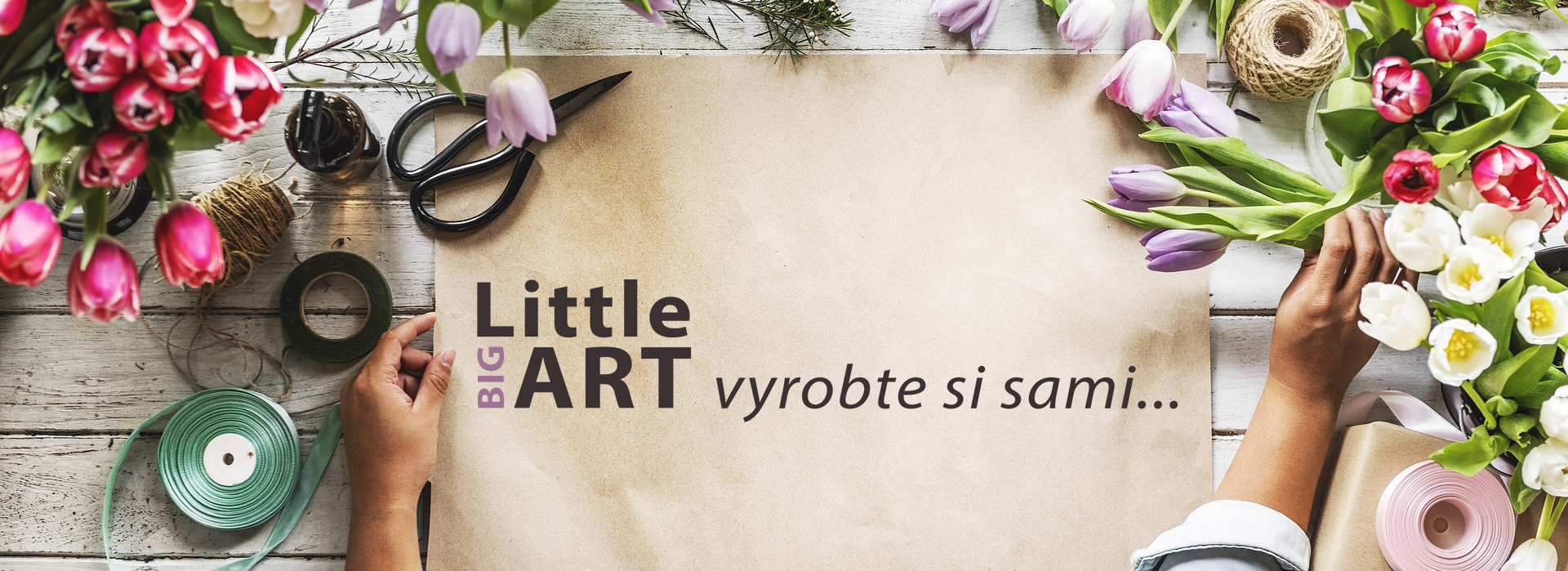 Little BIG ART - Vyrobte si sami