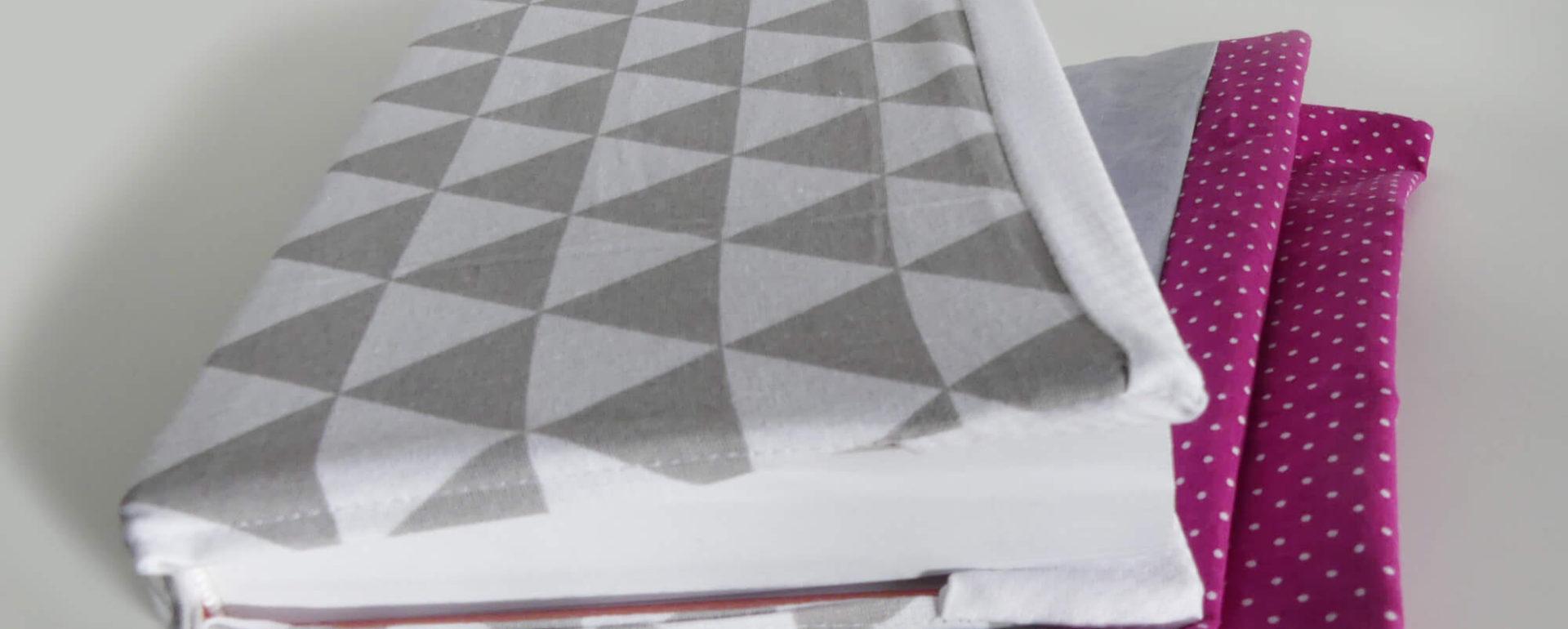 Látkový obal na knihu - Little BIG ART - Vyrobte si sami