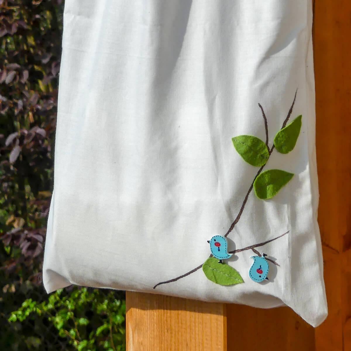 Látková taška - Vyrobte si sami