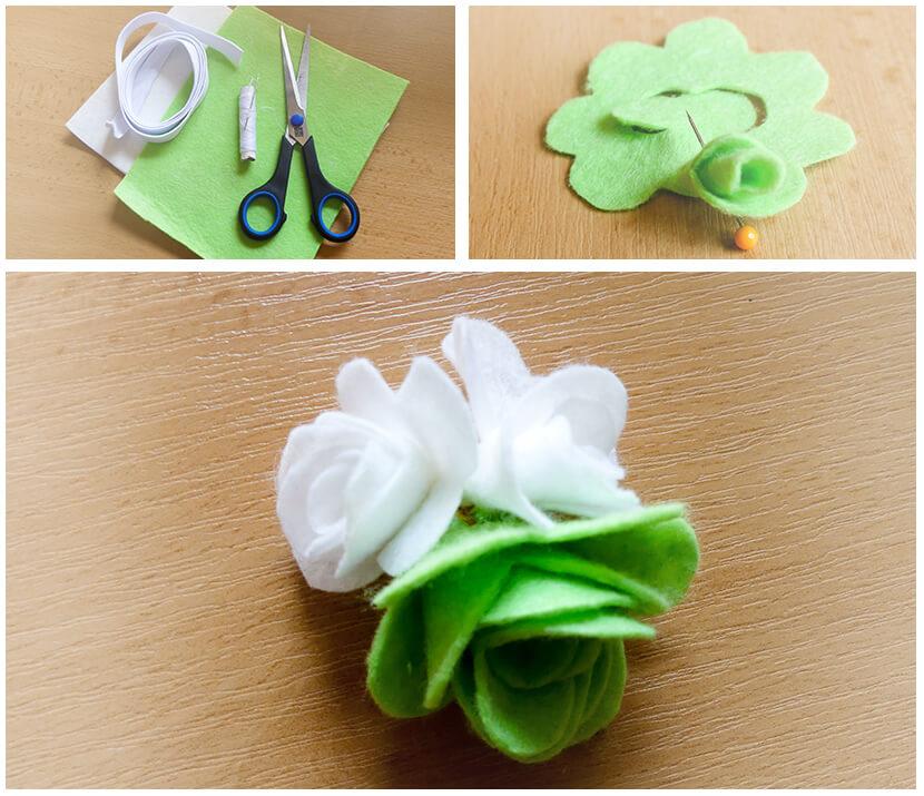 Jak vyrobit květinovou aplikace - Vyrobte si sami
