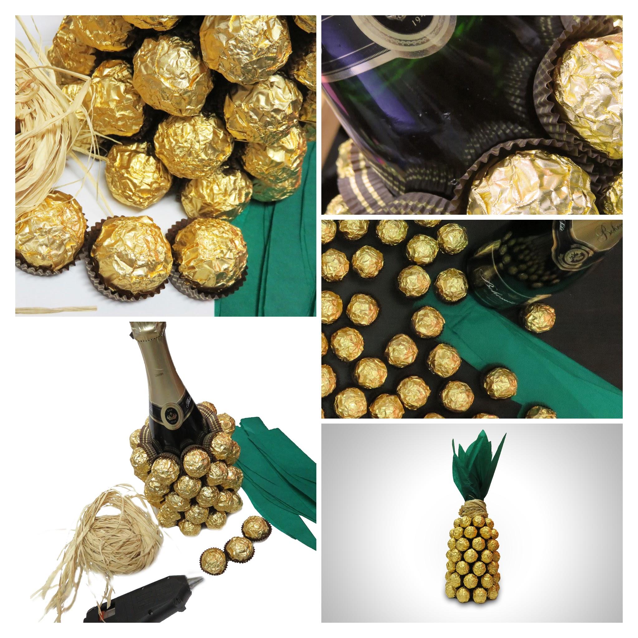 Opilý ananas ve sladkém županu - Originální dárek - Vyrobte si sami